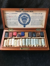 Antique Paint Box